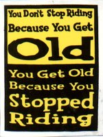 being old